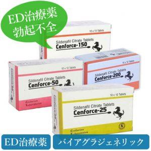 センフォース25mg/50mg/150mg/200mg(cenforce)