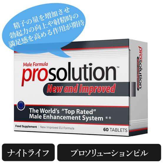 プロソリューションピル(prosolution pills)