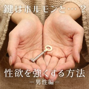 鍵はテストステロンと●●、性欲を強くする方法(男性編)
